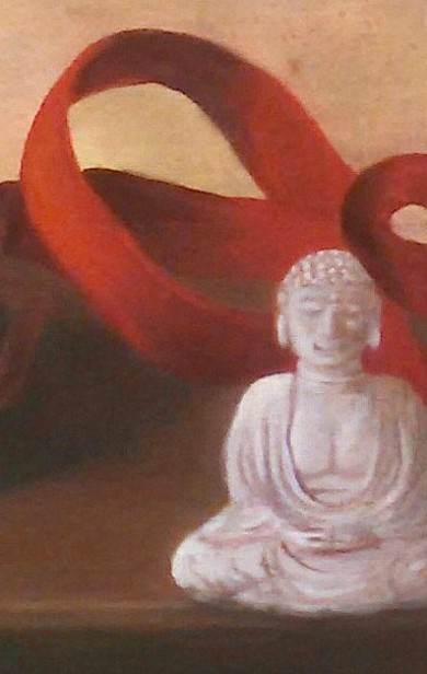 buddha (detail) - Kelly L. Taylor