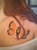 Self Portrait (Moth)