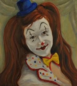 SelfPortrait Clown-KellyLTaylor