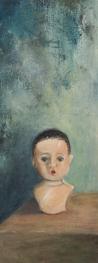 dollhead (detail) - Kelly L. Taylor