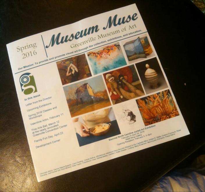 GMA museum muse spring 2016